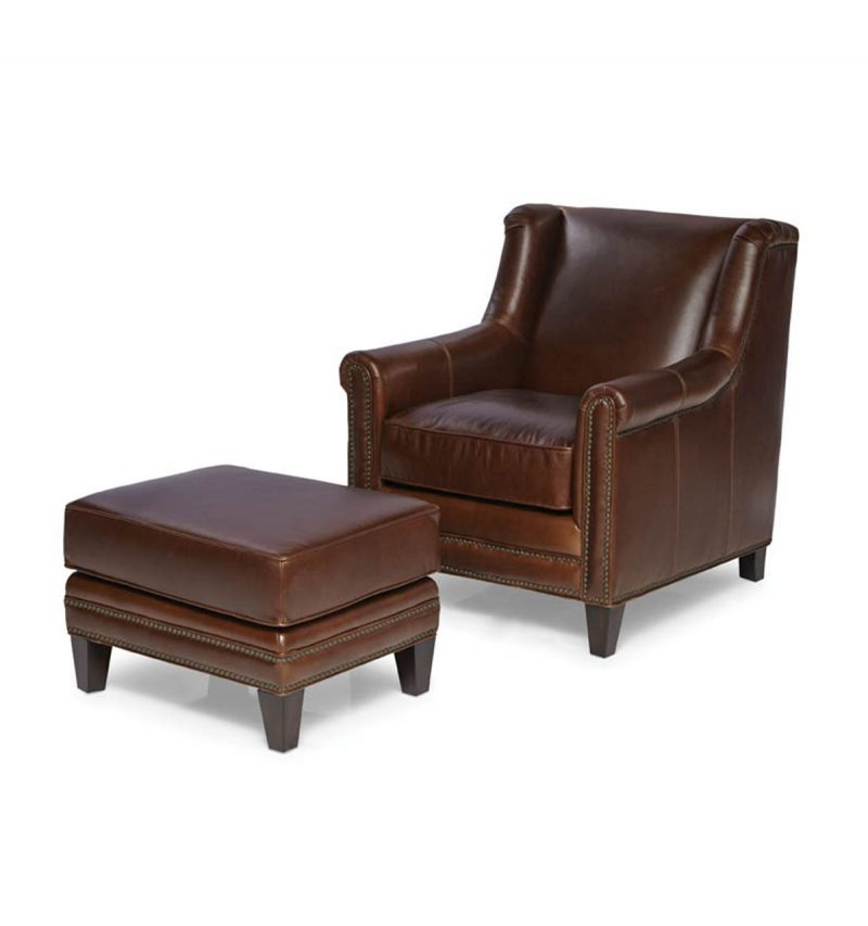 Picture of Pendleton-Chair---Pendleton-Ottoman---Trends-Walnut