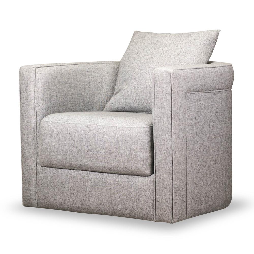 classic barrel back swivel chair