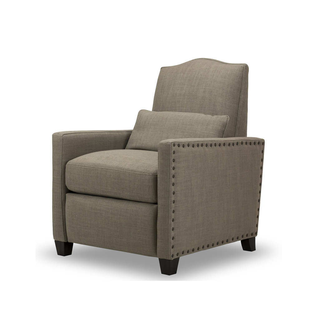 Brooke Recliner Loft Gray Spectra Home Furniture