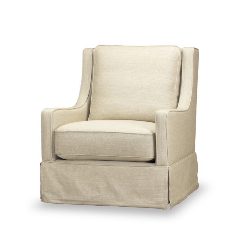 Kelly Swivel Chair - Windfield Natural