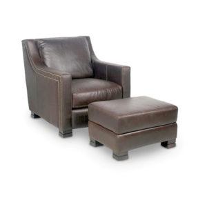 Picture of Carrington-Chair---Carrington-Ottoman