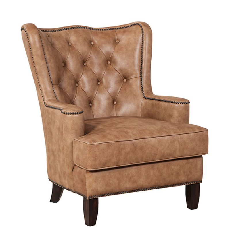 Picture of Xavier Chair in Cavalier-Russet
