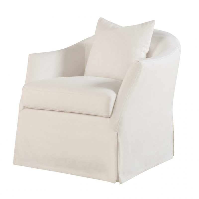 Amy Slipcover Swivel Glider - (Not In Fabric Shown)