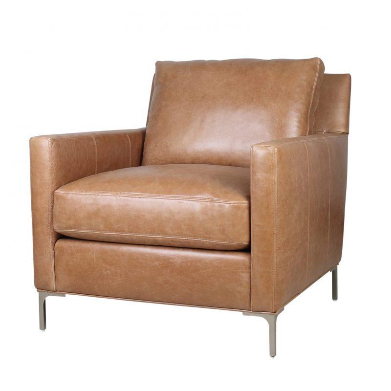 Turner Chair - Iceburg Cognac