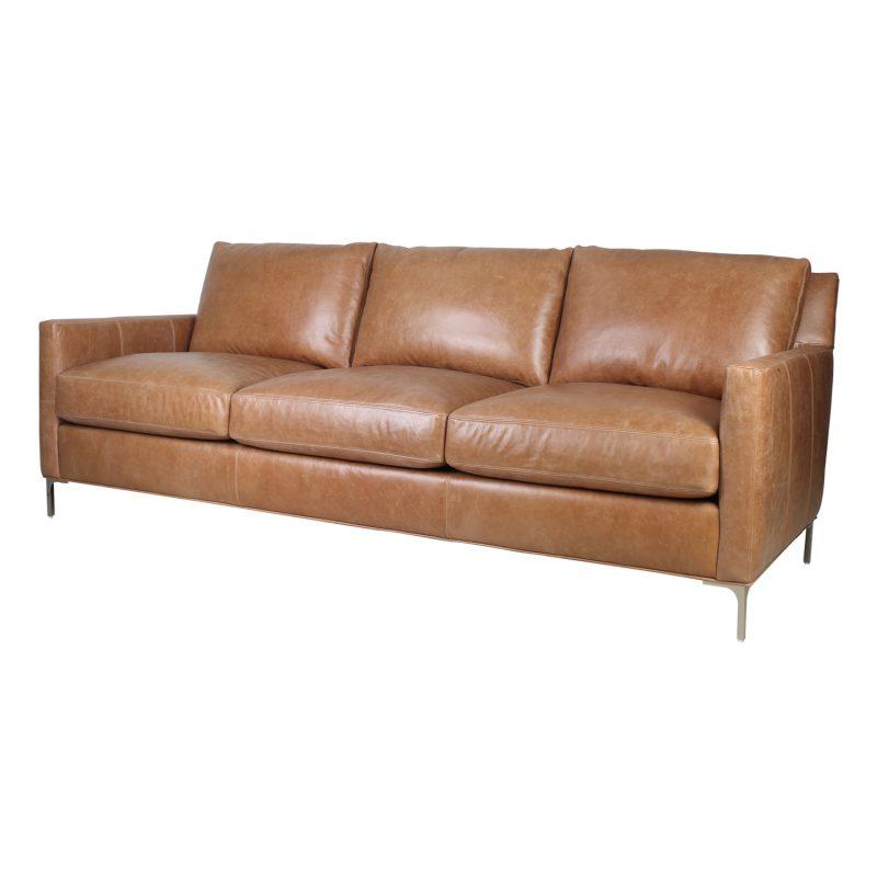 Turner Sofa - Iceburg Cognac