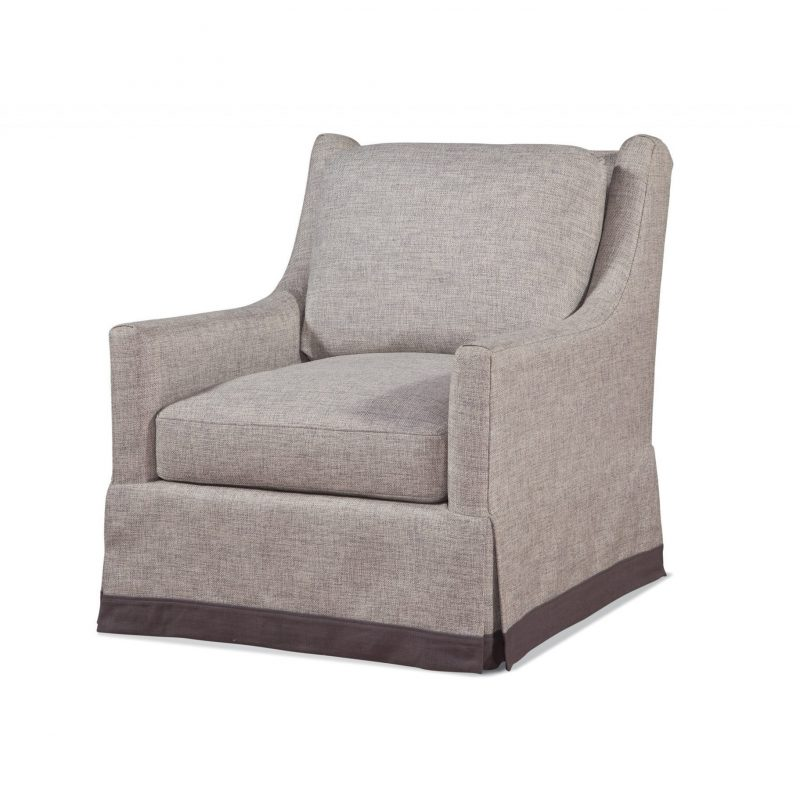 Trinity Swivel Chair - Vault Fog