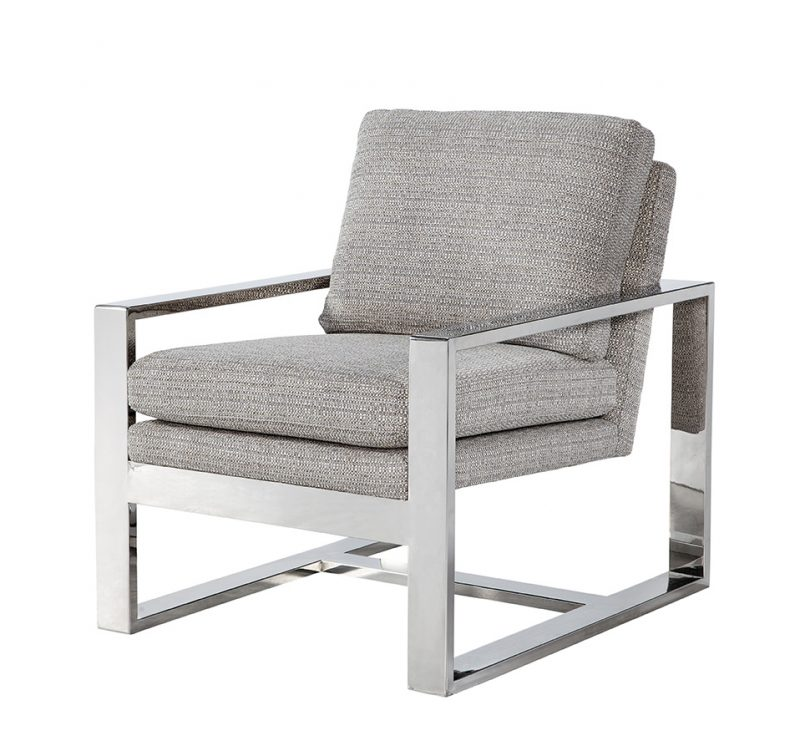 Avalon Chair - Jackie O Gunmetal