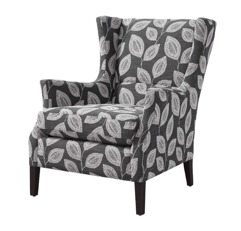 Channing Chair - Adril Charcoal