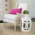 Walker Chair - Borneo Light Brown (Washed White Finish)